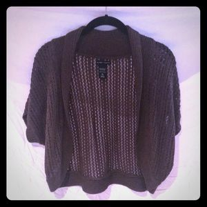 Chocolate Brown Shrug
